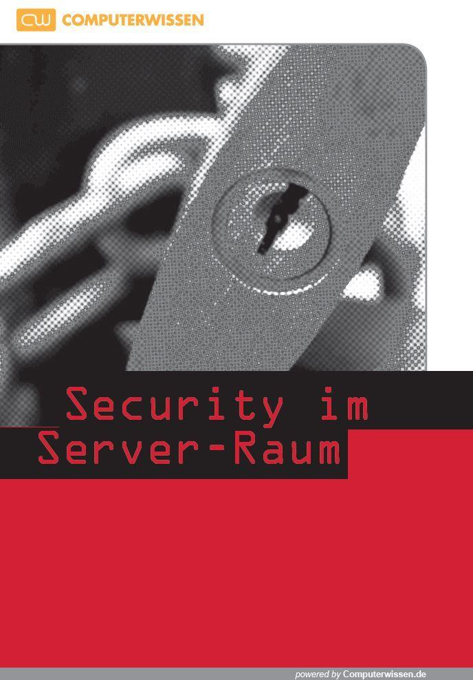eBook Security im Server Raum gross